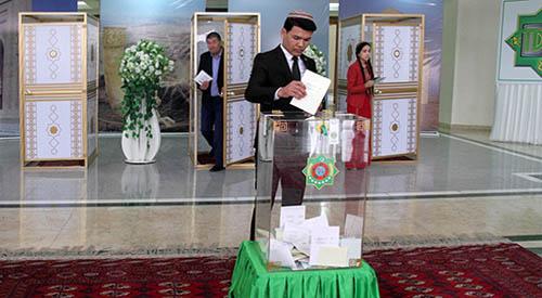 В Туркменистане стартовали выборы в Меджлис